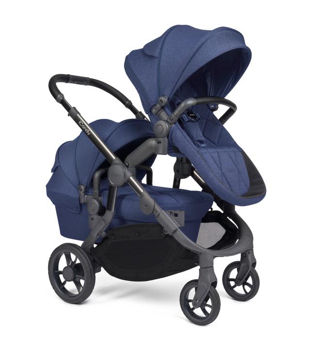 iCandy Orange Double Pushchair - Royal Blue (Newborn & Toddler)