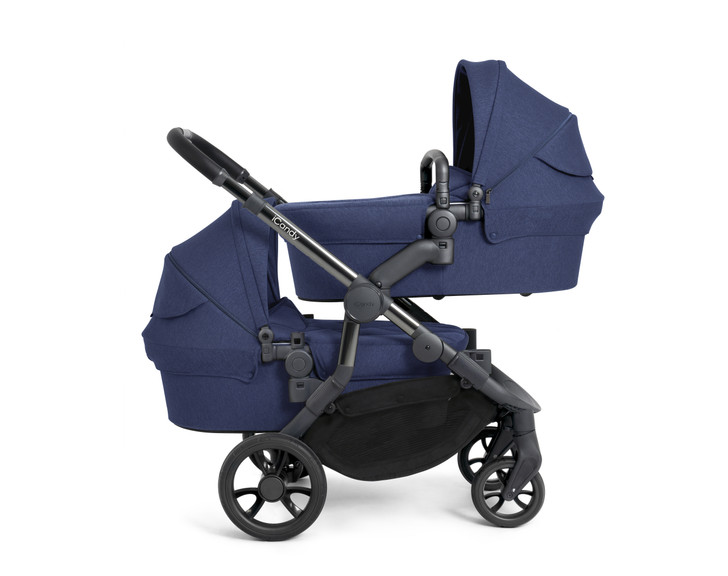 iCandy Orange Twin Pushchair - Royal Blue
