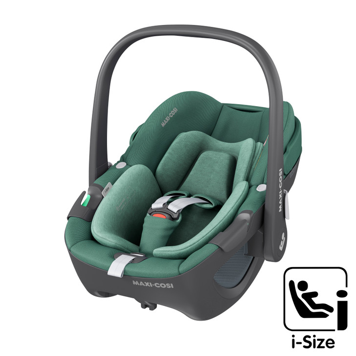 Maxi Cosi Pebble 360 i-Size Baby Car Seat - Essential Green