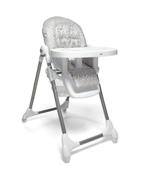 Mamas & Papas Snax High Chair - Grey Spot