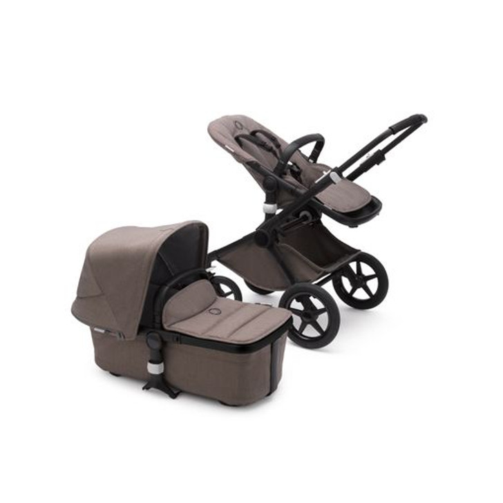 Bugaboo Fox 2 Complete Pushchair - Taupe/Black