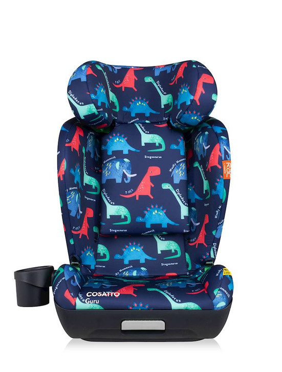 Cosatto Guru RAC i-Size Group 2/3 Car Seat - D Is For Dino