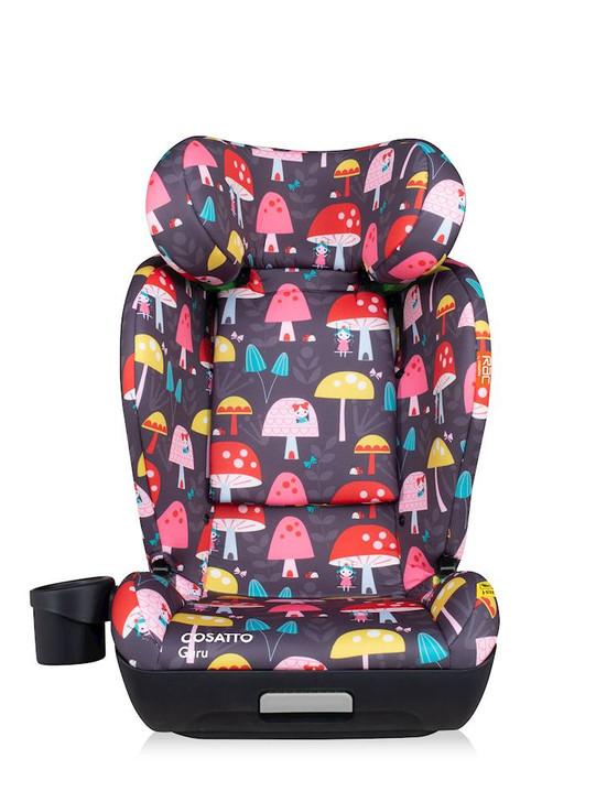 Cosatto Guru RAC i-Size Group 2/3 Car Seat - Mushroom Magic Charcoal