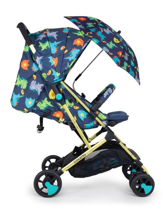 Cosatto Woosh 2 Stroller & Parasol Bundle - Dragon Kingdom