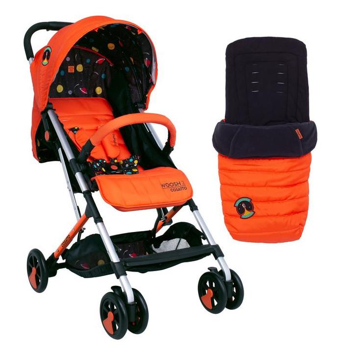 Cosatto Woosh 2 Stroller & Footmuff Bundle - Spaceman