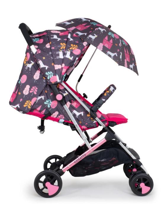 Cosatto Woosh 2 Stroller & Parasol Bundle - Unicorn Land