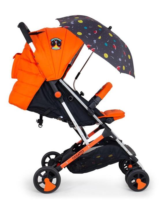 Cosatto Woosh 2 Stroller & Parasol Bundle - Spaceman