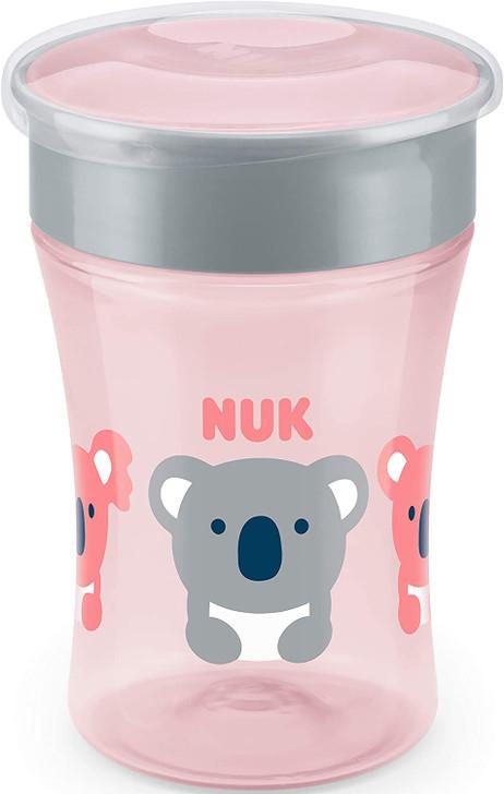 NUK Magic Cup 230ml - Pink