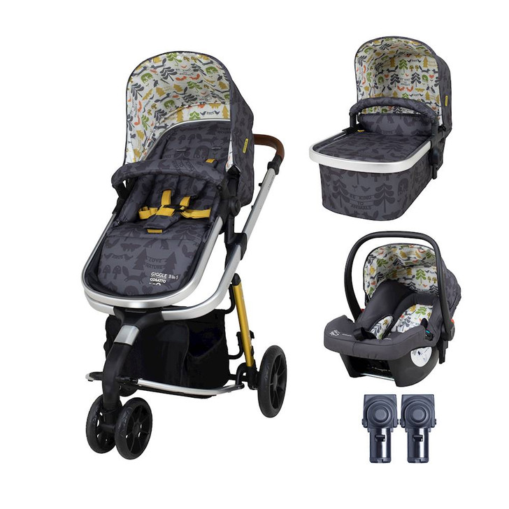 Cosatto Giggle 3 In 1 With Car Seat Bundle