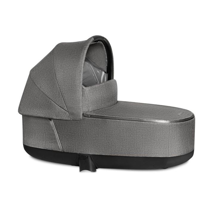 Cybex Priam Lux Carrycot Plus - Manhattan Grey