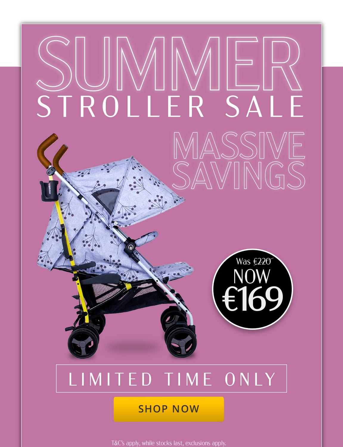 summer stroller sale