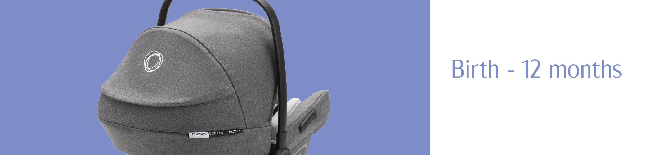 newborn baby in the new maxi cosi coral car seat