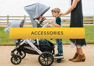 Uppababy adaptors and footmuffs