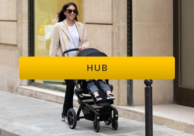 Joolz hub city pushchair