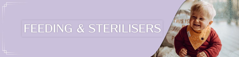 baby feeding essentials and sterilisers