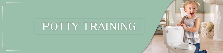 range of pottys and potty training