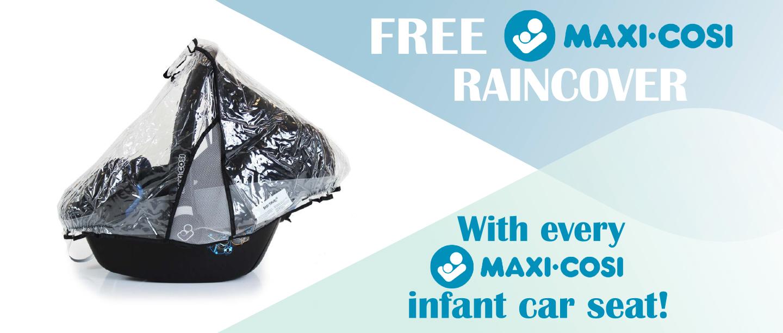 Free Maxi Cosi Raincover