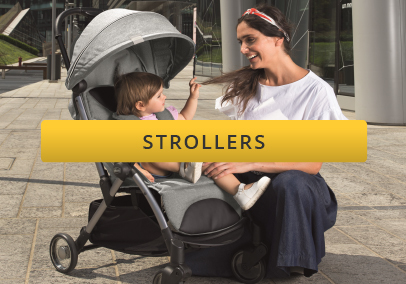 Baby in new chicco goody stroller