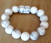 Howlite Beads Bracelet- Handmade