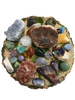 The Ultimate High Vibe Master Crystal Healer Stash Kit with 66 Crystals and Gemstones!