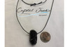 Tourmaline Necklace is pictured with a adjustable rope that is included. Crystal is chosen, spiritually cleansed and packaged with an abundance of gratitude and high vibe positive energy.
