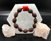 Bodhi seeds & Red coral for protection, and positive energy & Clearer breathing.