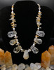 Citrine necklace, chunks of gorgeous citrine  that lay perfectly on the neckline.  Citrine brings happy energy and Bonus its attracts abundance