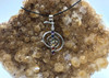 Reiki Cho Ku Rei Symbol 925 silver & Chakras Necklace
