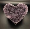 Amethyst Love Heart ( 4 inches across)