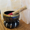 3 piece set ; Indonesian Singing Bowl Buddha  include the Pillow & Dowel to play it!
