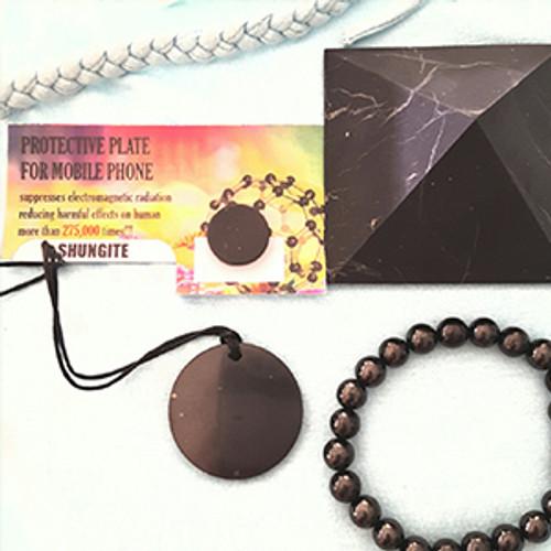 Genuine Shungite EMF Protection Kit