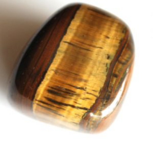 Tiger's Eye is brownish with gold sashes. I love this beautiful stone; it reminds me of an inner tree trunk and its stripes of strength. Tiger's Eye is pure protection. when I was a kid, I held it every night because I was feeling things I was unsure of. There were spirits or energy around me that I was not educated about, especially because I couldn't see, only feel the presence of a visitor. Tiger's Eye totally warded off that energy so I could sleep. Copyright © DeMarco,J. (2019) High Vibes Crystal Healing. Florida: Llewellyn Publishing  Crystal is chosen, spiritually cleansed and packaged with an abundance of gratitude and high vibe positive energy.