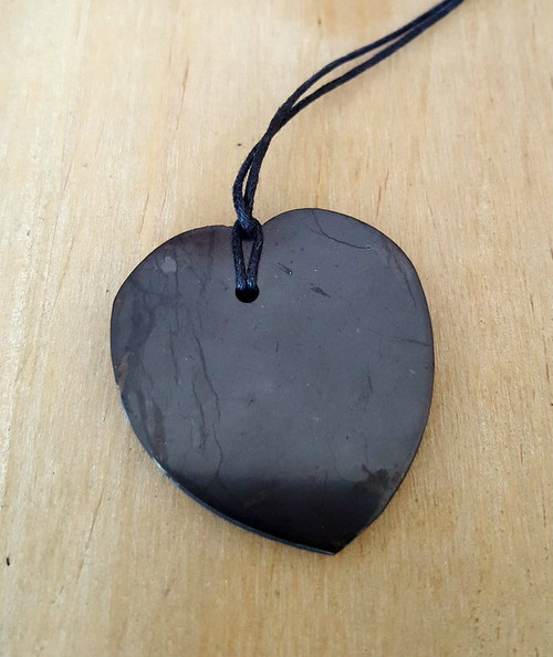 Shungite Heart Protection Necklace