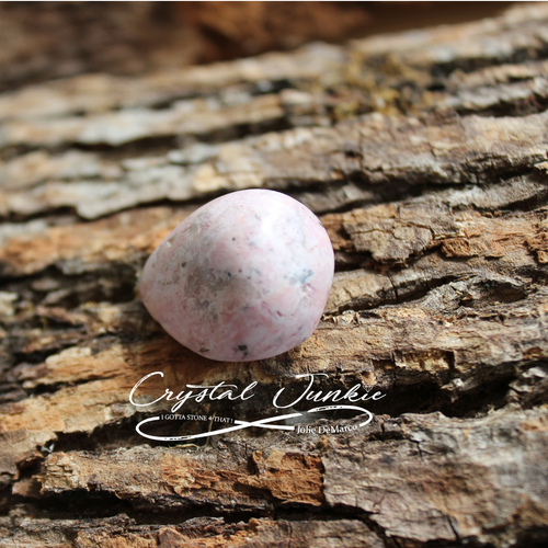 Rhodochrosite has pink tones and some brown specks or lines. This stone brings love into one's life.  This includes self-love. It brings out the mindfulness to remain calm in all situations of the heart.  It is powerful enough to release psychological issues, fears, and anything related to stress. Stone is hand picked, spiritually cleansed and packaged with an abundance of gratitude and positive energy.