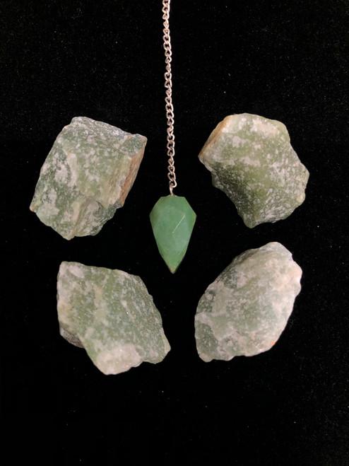 Aventurine Green pendulum tool- Heart chakra & Love energy