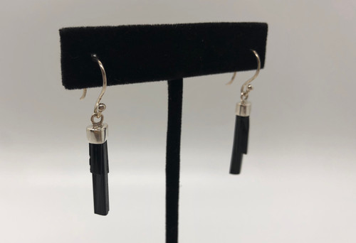 Black Tourmaline Earrings- Protection