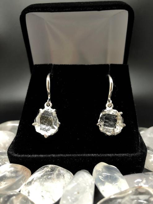 Herkimer diamond earrings LOVE these POWERHOUSES