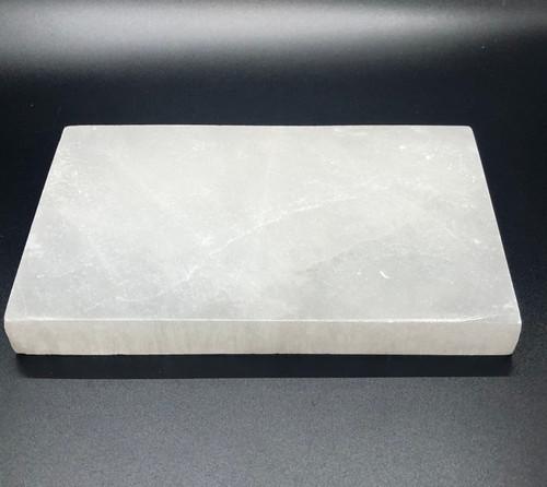 Selenite Cleansing Plate