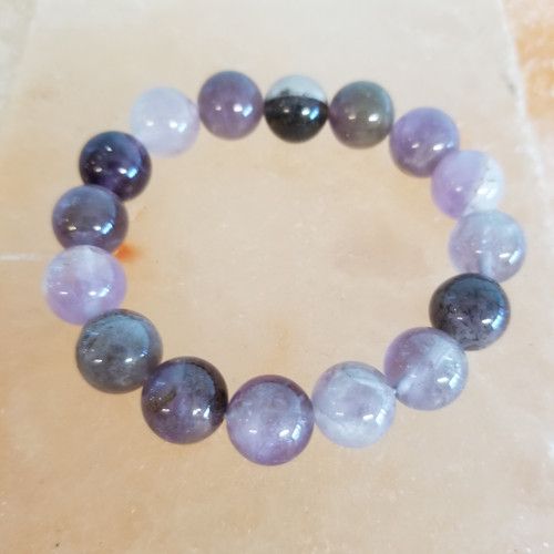 Auralite23 Genuine Beaded Bracelet One size fits all  Protection, Healing, Keeping your Aura cleansed & Soul connection