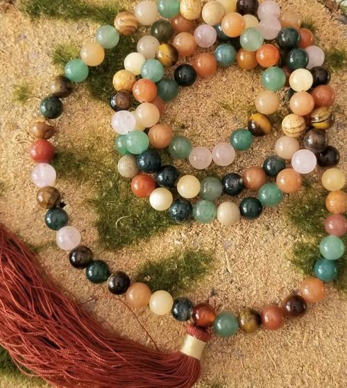 Chakra Mala  Meditation Beads