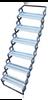 6 Step Torklift Aluminium Scissor steps