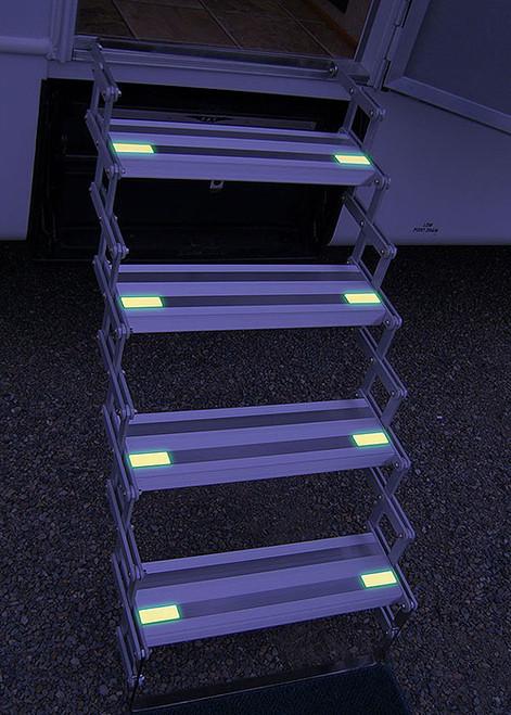 GlowSteps: Glow in the dark steps