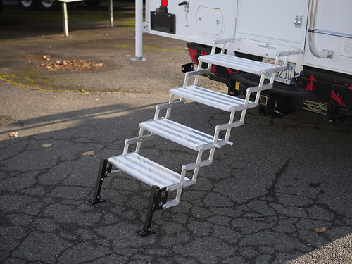 Torklift Stow N' Go Step System: Deployed