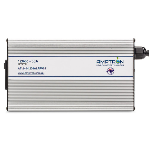 Amptron 30A 12V Lithium LiFePO4 Battery Charger