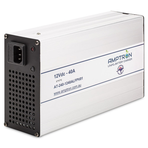 Amptron 40 amp LiFePo4 Lithium Battery Charger
