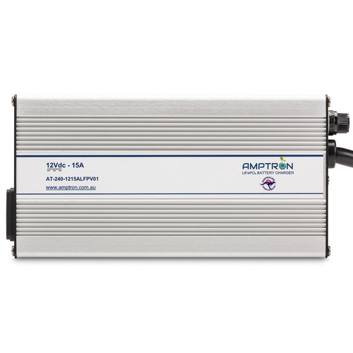 Lithium LiFePo4 Charger 15 amp Amptron