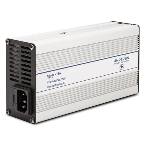 Lithium LiFePo4 Charger 15 amp Amptron
