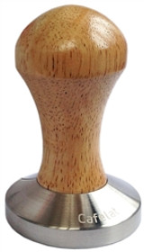 Espresso Series Rubber Wood Tamper by Cafelat