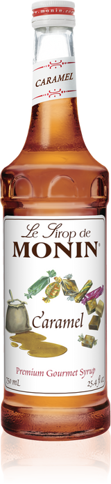 Monin Caramel - 750ML Glass Bottle