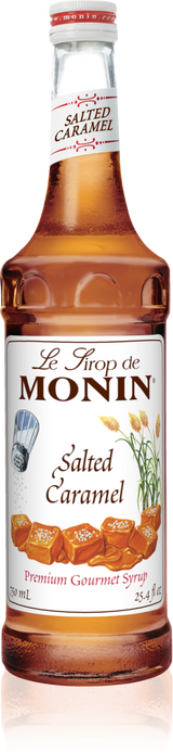 Monin Salted Caramel - 750ML Glass Bottle